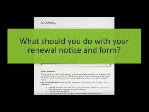 How To Complete A Minnesota Health Care Renewal