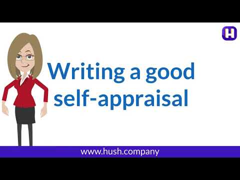 How To Write A Good Self Appraisal