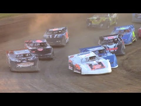 RUSH Crate Late Model Heat Two | McKean County Family Raceway | 9-29-18