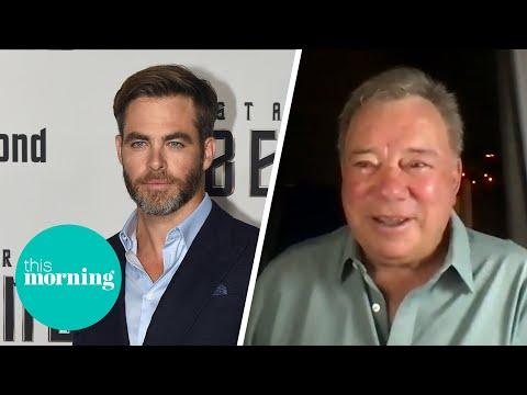 'He's Wonderful' Star Trek's William Shatner On Chris Pine's Captain Kirk Performance   This Morning