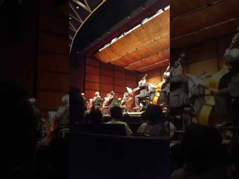 Virginia Symphony Orchestra. Opening song, May the 4th be with you