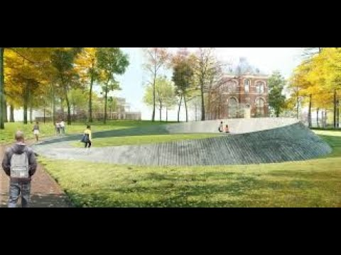 University of Virginia Memorial to Enslaved Workers and DuraTrench Smooth Radius Slotted Drain