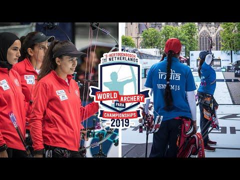 Turkey v India – compound women team bronze   Den Bosch 2019 Hyundai World Championships