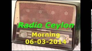 Radio Ceylon 06-03-2014~Thursday Morning~03 Tribute to Khan Mastana (PFKS)