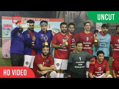 UNCUT - ASFC Football Match | Abhishek Bachchan, Ranbir Kapoor, Dino Morea, Arjun Kapoor And Many...