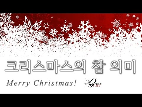 크리스마스의 참 의미(161224)
