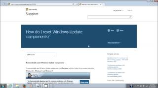 Microsoft Windows Update Fix It Tool Repair Windows Update Components