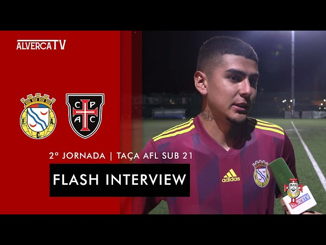 FC Alverca 3 - 1 Casa Pia   Flash Interview