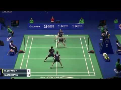 2016 China Masters   Go Ah Ra Yoo Hae Won Vs Mayu Matsumoto Wakana Nagahara