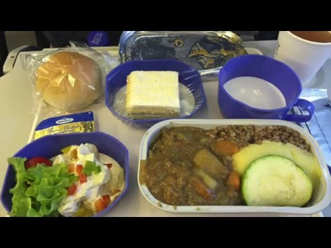 in flight meal of Delta,United,Hawaii and more airlines economy class
