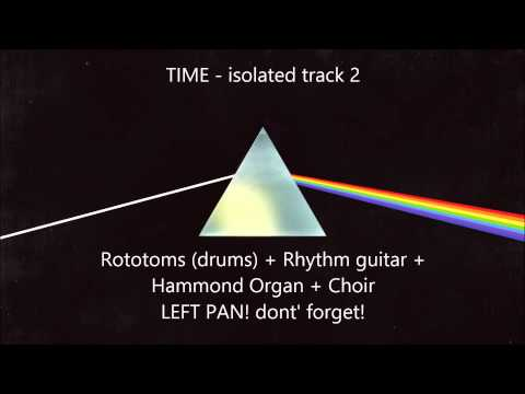 ISOLATED '04 TIME' - Pink Floyd - The Dark Side of the Moon - Isolated track n°2