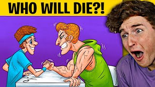 MESSED UP Mystery Riddles That Will SAVE YOUR LIFE!