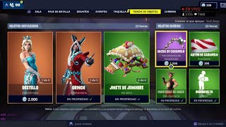 FORTNITE'S *NEW AND BEST CHRISTMAS STORE* TODAY DECEMBER 25 *NEW SKIN* AND *NEW GESTONY*
