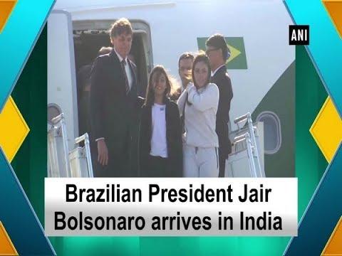 Brazilian President Jair Bolsonaro Arrives In India