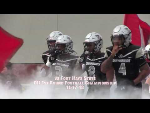 UIndy Football highlights vs Fort Hays State - DII Playoffs 11-17-18