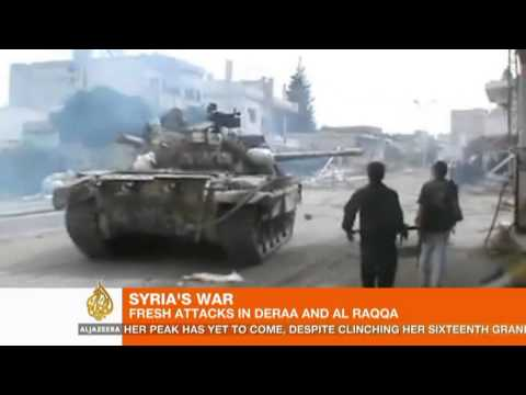 Rebels battle for control of Syria's Deraa