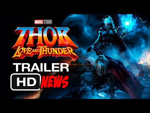 THOR 4 Love and Thunder Trailer (2021) [HD] | Natalie Portman, Marvel Movie.