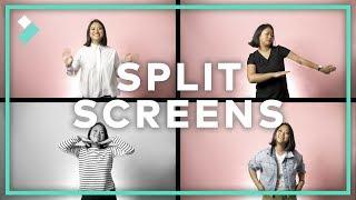 3 FUN Ways to Use SPLIT SCREENS in Version 9.2 | Filmora9