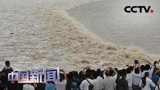 [中国新闻] 钱塘观潮 盐官是观看一线潮的最佳位置 | CCTV中文国际