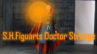 S.H.Figuarts Doctor Strange & Yellow Burning Flame Set Review