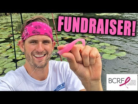 PINK LURE Challenge for Breast Cancer Awareness Month!