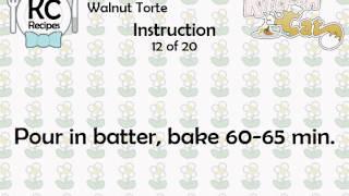 Walnut Torte - Kitchen Cat