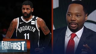 Injury prone Kyrie Irving should be a concern for Nets — Vince Goodwill | NBA | FIRST THINGS FIRST
