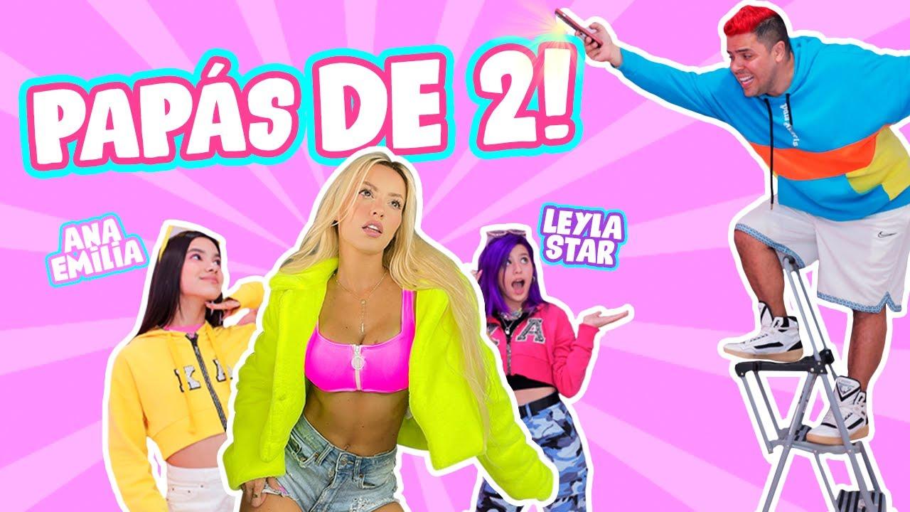 24 HORAS SIENDO PAPÁS DE 2 ADOLESCENTES!! 😱👯 ft. ANA EMILIA y LEYLA STAR 💖🌟  | Katie Angel