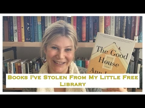 Books I've Stolen From My Little Free Library