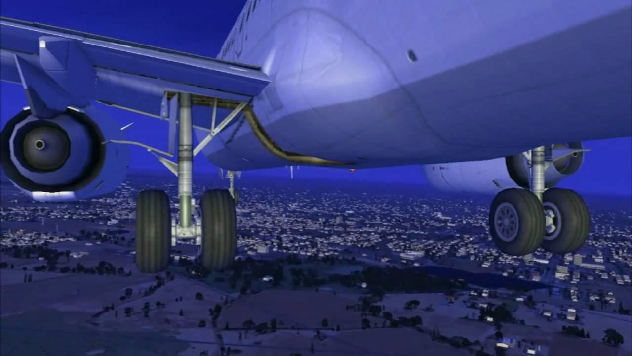 Christchurch Video Hd: FSX Air New Zealand Evening Flight From Nelson To