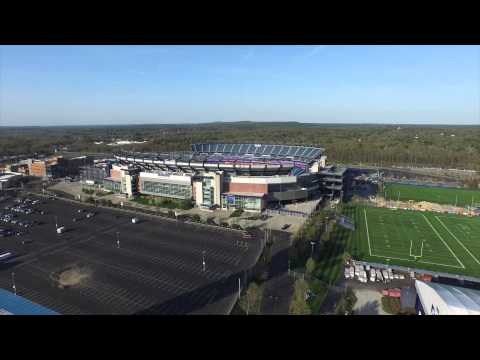 Gillette Stadium Dji Inspire 1 Drone Aerial