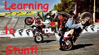 Stunt Bike?!? / Dash Hub / Fire carnage   DapperxDan Motovlog