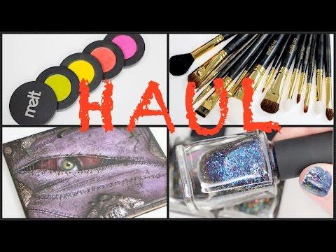 INDIE MAKEUP HAUL | Melt Radioactive, Smith Cosmetics,  Sugarpill & More