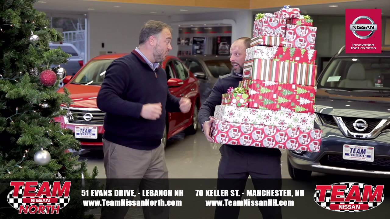Celebrate The Holidays At Team Nissan