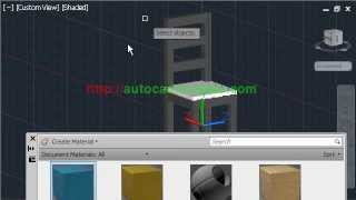 Autocad Tutorial 3d Chair