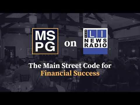 The Main Street Code for Financial Success - September 3rd, 2021