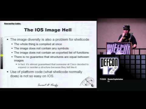 DEF CON 17 - FX - Router Exploitation