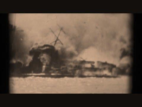 World War 2-German Battleships SINK! Admiral Graf Spee