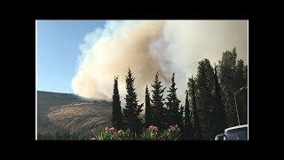 Amanos Dağları nda çıkan yangın büyüyor DuckNews TV