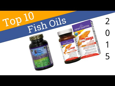 10 Best Fish Oils 2015