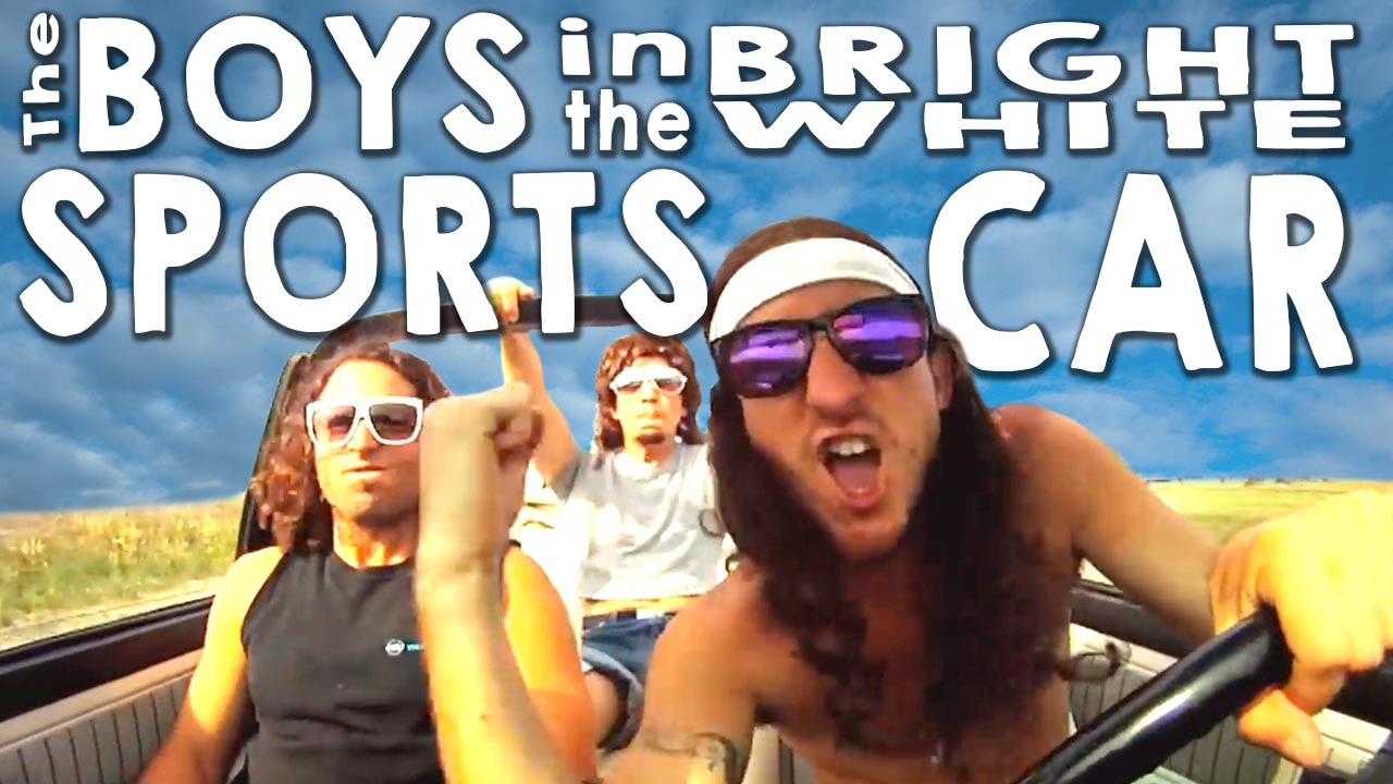 The Boys In The Bright White Sports Car!   YouTube