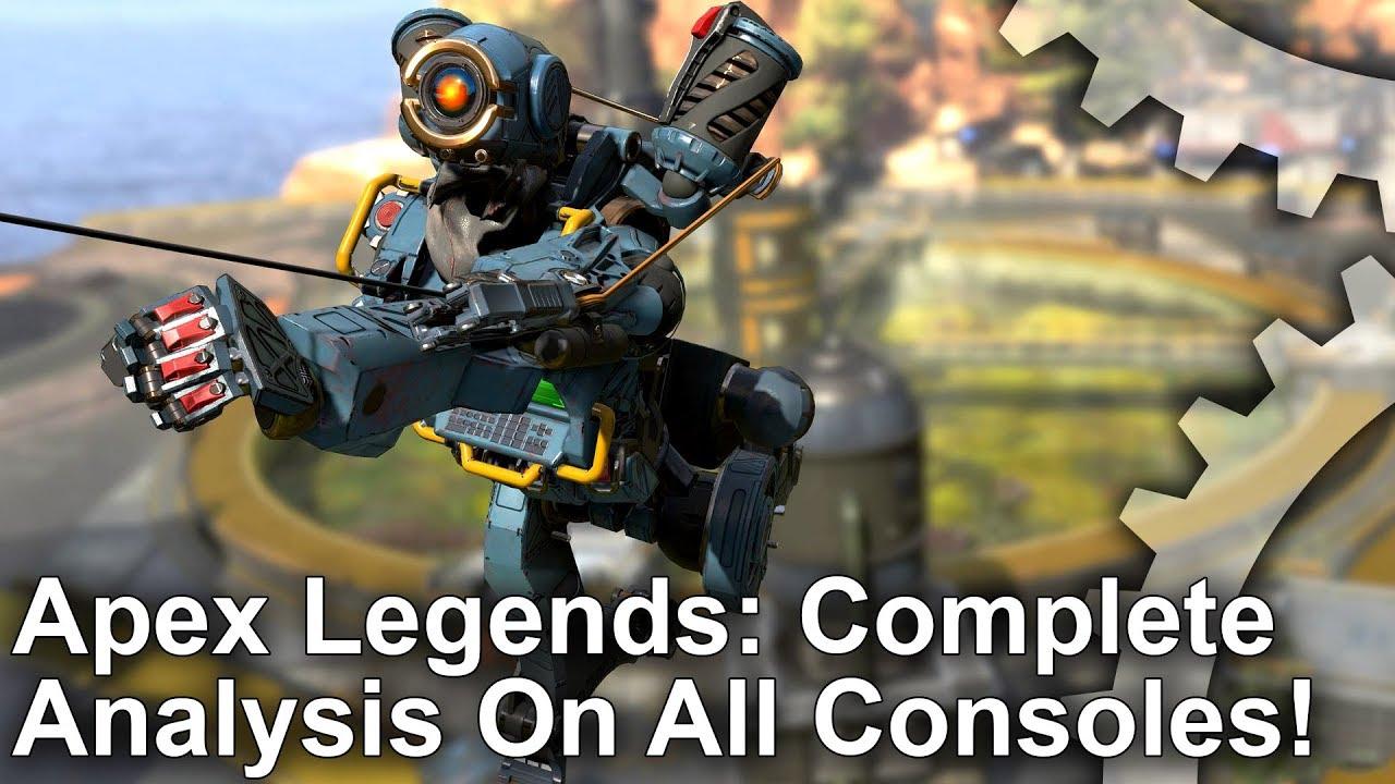 Apex Legends' Runs Best On Xbox One X, But Worst On Standard