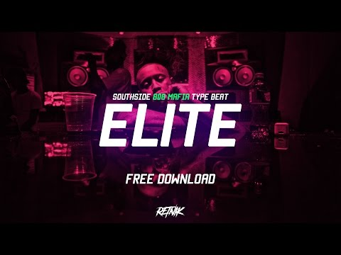 'ELITE' Hard Southside 808 MAFIA Type Trap Beat | Prod. Retnik Beats | Rap Instrumental