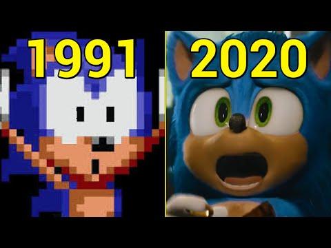 Evolution of Sonic Games 1991-2020