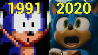 Evolution of Sonic Games 1991-2020
