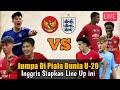 Lawan Indonesia di Piala Dunia U-20, Inggris Siapkan Line Up Mematikan