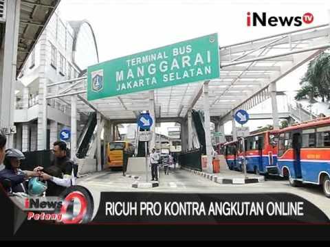 Live Report: Mikrolet, Metromini dan Kopaja belum beroperasi - iNews Petang 22/03