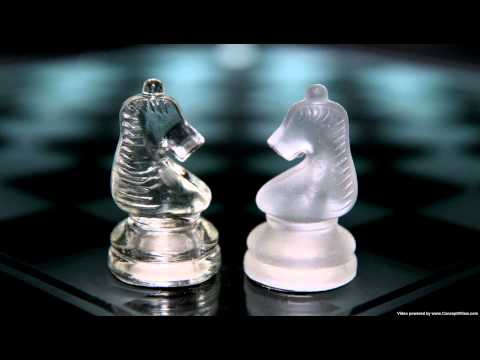 Glass Chess Set - available from Internet Shop Uk