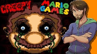 Creepy Mario Games - SpaceHamster