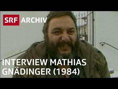 Interview mit Mathias Gnädinger (1984) | SRF Archiv - YouTube